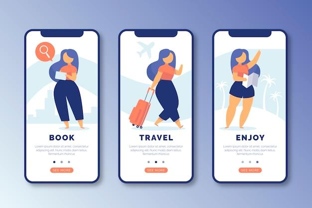 Podróżuj po ekranach aplikacji online