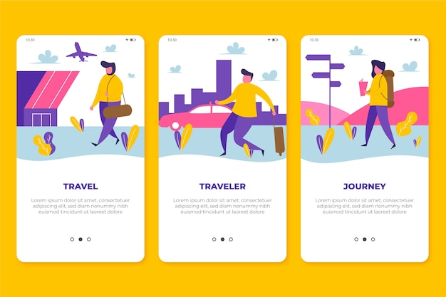 Podróżuj po ekranach aplikacji