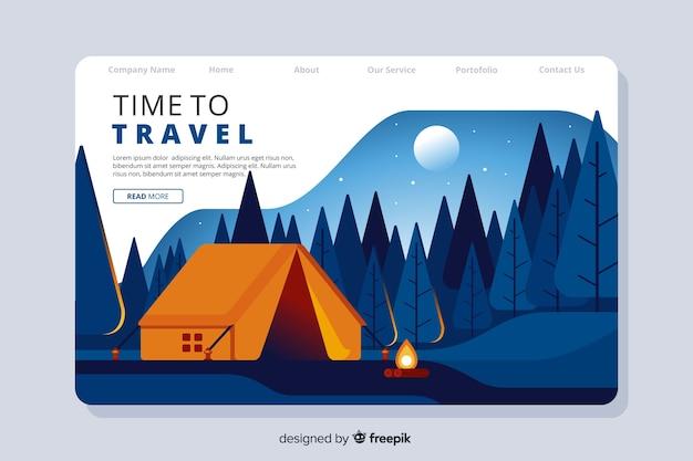 Podróżuj po stronie docelowej świata