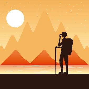 Podróżują ludzie wanderlust