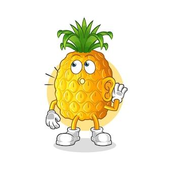 Podsłuchiwanie ananasa