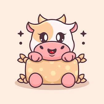 Poduszka do przytulania krowa