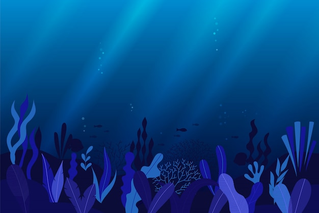 Podwodne tło oceanu