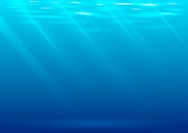 Podwodne tło w grafice wektorowej