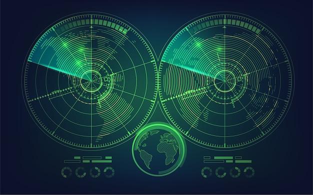 Podwójny radar