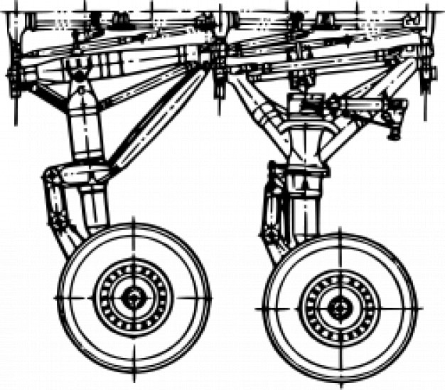 Podwozie - antonow an-225 [mria]