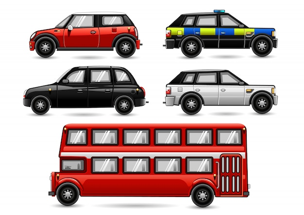 Pojazdy z anglii