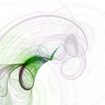 Pojęcie abstrakcjonistyczny tło, futurystyczna falista ilustracja, kolorowa abstrakcjonistyczna ilustracja