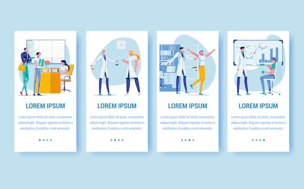 Pojęcie medycyny, pacjenci, lekarze w szpitalu.