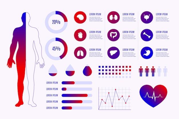 Pojęcie medyczne infographic
