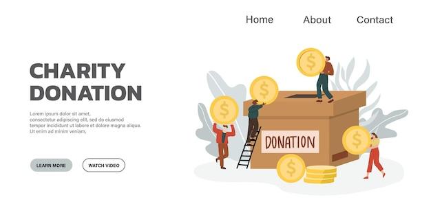 Pojęcie miłości i darowizny. daj i podziel się swoimi pieniędzmi z ludźmi.