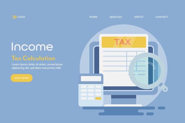 Pojęcie obliczania podatku dochodowego