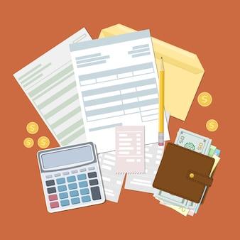 Pojęcie płatności podatkowej i faktury.