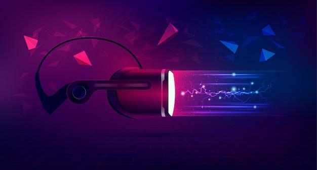 Pojęcie technologii wirtualnej rzeczywistości lub vr
