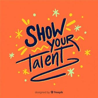 Pokaż swój talent literowy