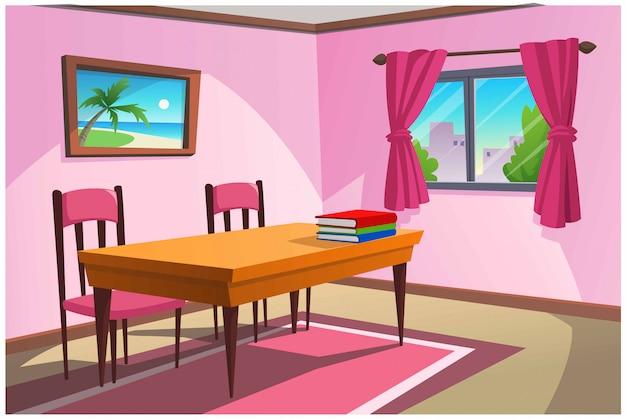 Pokój do wykonywania czynności w domu.