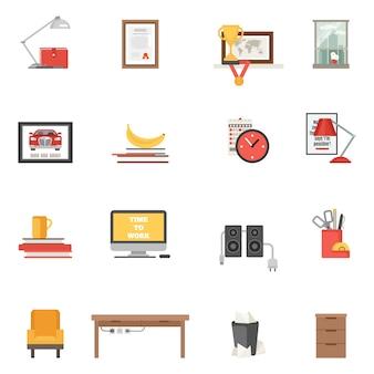 Pokój pojedyncze ikony