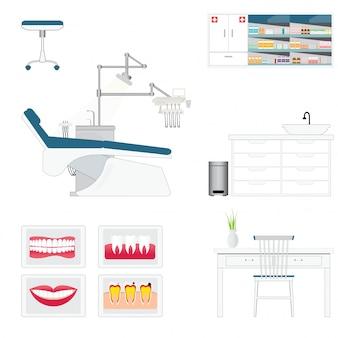 Pokój zaopatrzenia w gabinet dentystyczny