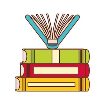 Pokoloruj te książki zamknięte zdjęcie