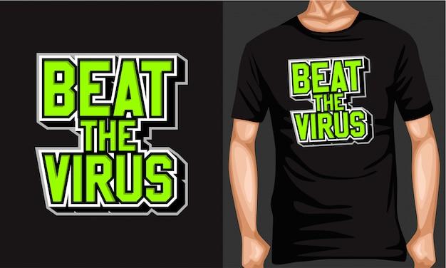 Pokonać typografię liter wirusa