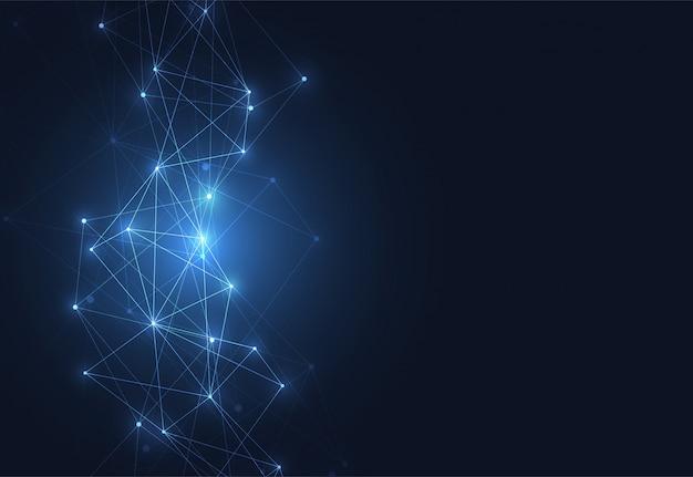Połączenie internetowe, abstrakcyjne poczucie nauki