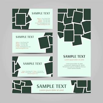 Polaroid zestaw modelowych koncepcji
