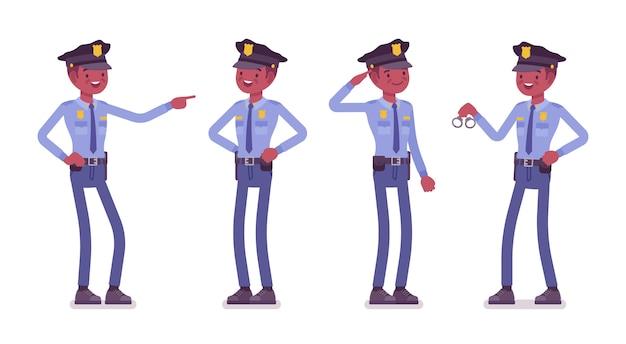 Policjant zadowolony i nagrodzony pracą