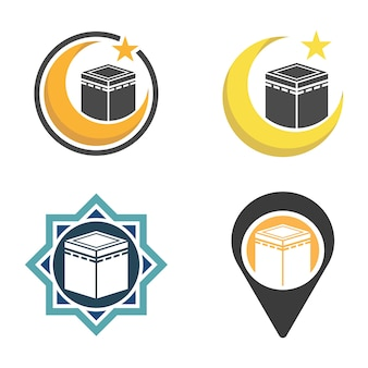 Półksiężyc z kabą w mekce