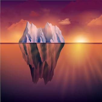 Północny morze krajobraz