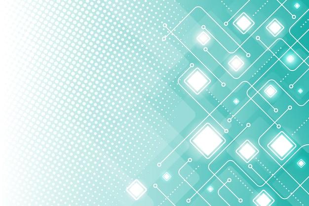 Półtonów technologii nowoczesne tło