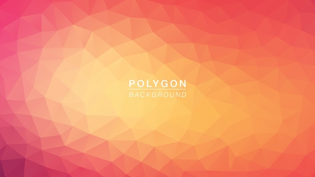 Polygon hot pink
