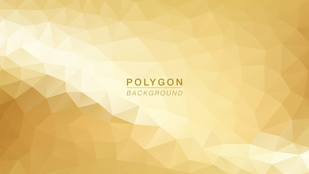 Polygon light gold