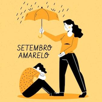Pomaganie sobie nawzajem w dniu zapobiegania samobójstwom