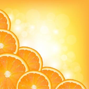 Pomarańczowa ramka segmentu