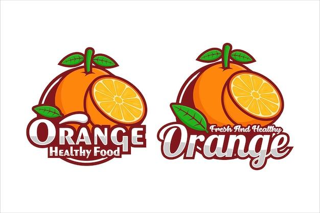 Pomarańczowe logo