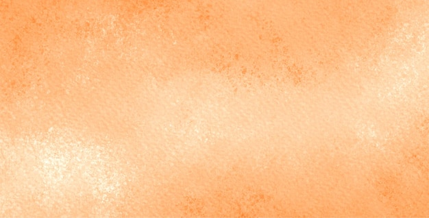 Pomarańczowe tło akwarela