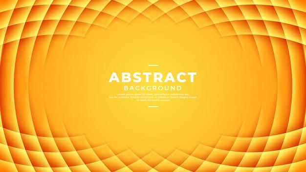 Pomarańczowe tło z gradacją abstrakcyjnych wzorów.