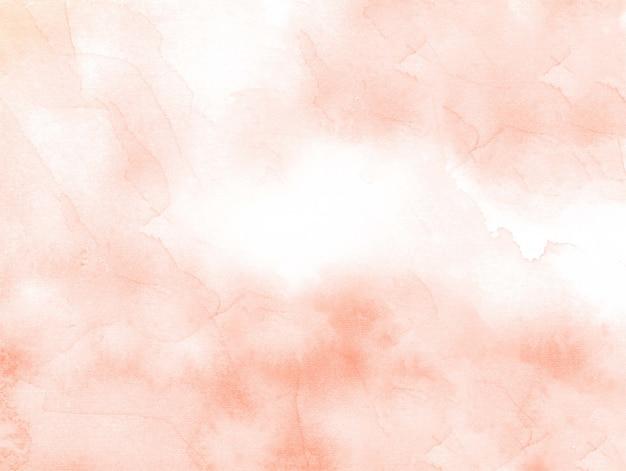 Pomarańczowej akwareli tekstury abstrakcjonistyczny tło
