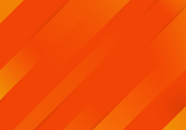 Pomarańczowy gradient z dynamicznymi paskami w tle. ilustracja wektorowa.