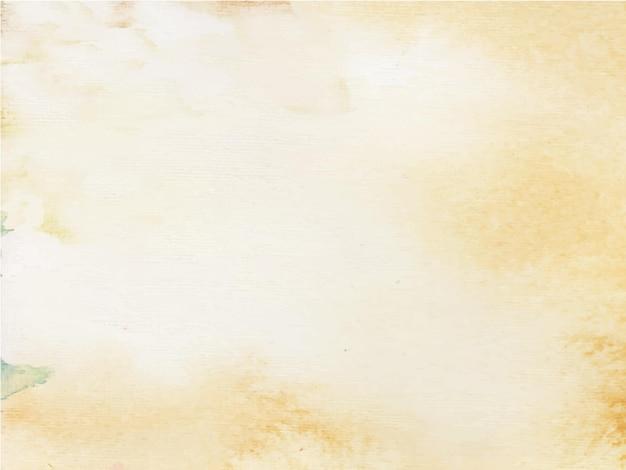 Pomarańczowy jasny abstrakcyjne tło akwarela dla tekstury tła