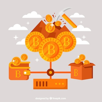 Pomarańczowy projekt bitcoin