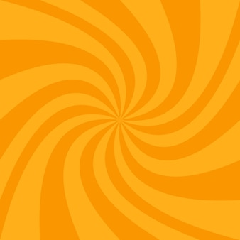 Pomarańczowy spirali tła projektu