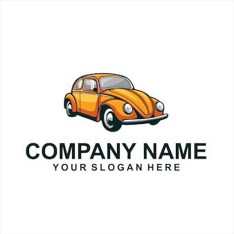 Pomarańczowy wektor logo combi