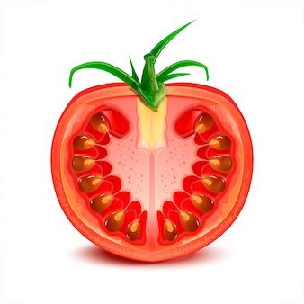 Pomidorowa ilustracja