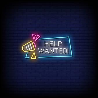 Pomoc poszukiwany tekst w stylu neonów