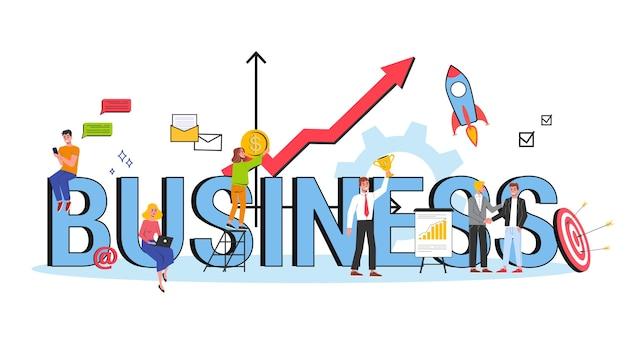 Pomysł na biznes. idea strategii i osiągnięć w pracy zespołowej