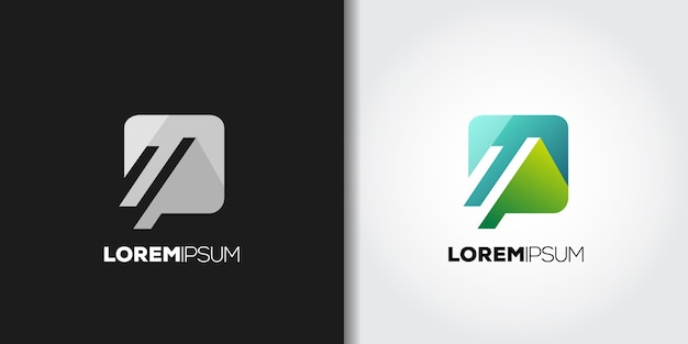 Pomysł na logo górskich aplikacji