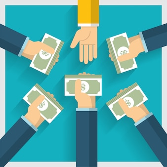 Pomysł na wymianę pieniędzy i jeden sposób na zapewnienie korzyści