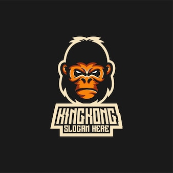 Pomysły na logo king kong