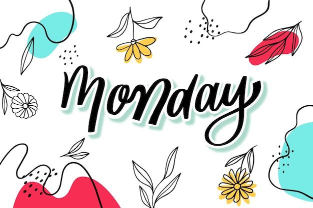 Poniedziałek tło